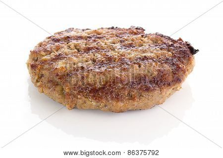 Fried Burger Beef Patty