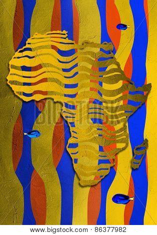 Art map africa