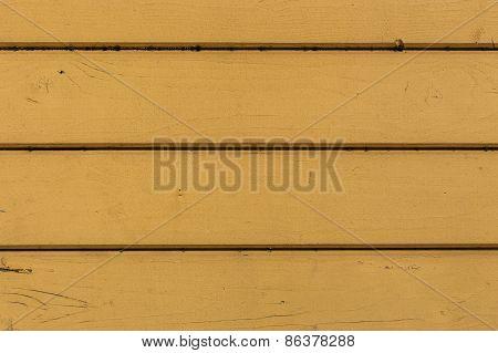 Fragment Of Yellow Wood Paneling