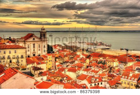 View Lisbon And The Tagus River - Portugal