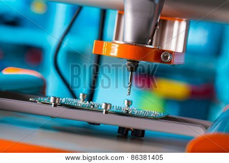 PCB Processing on CNC machine
