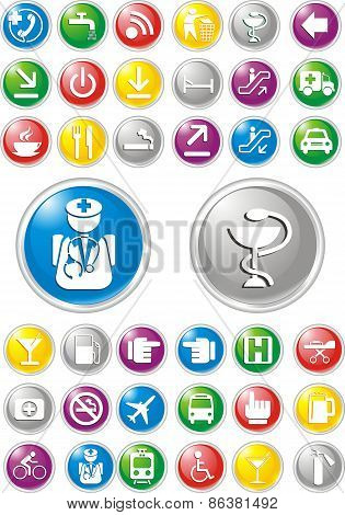 Social Media Icons Vector [