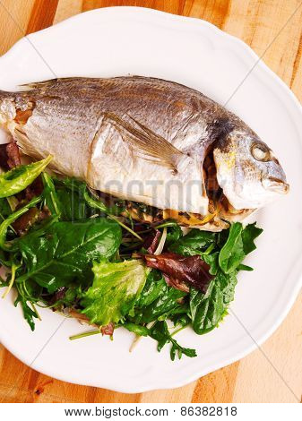 Fresh Grilled Gilt-head Bream