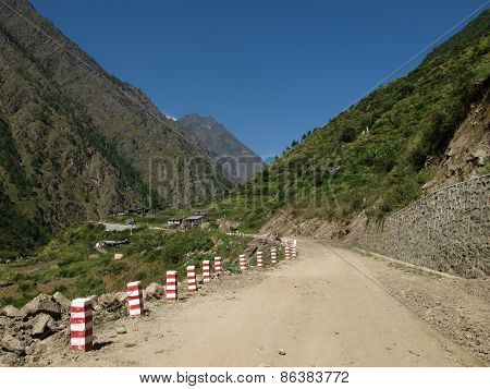 New Road From Nepal To China