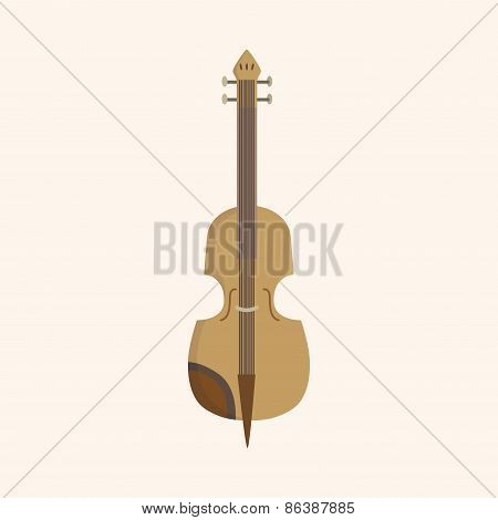 Instrument Cello Cartoon Theme Elements