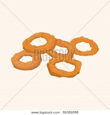 Fried Foods Theme Elements