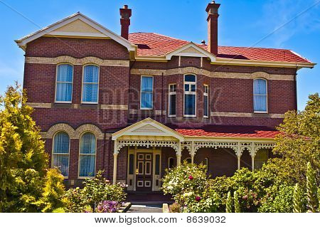 Suburban Mansion Hobart Australia