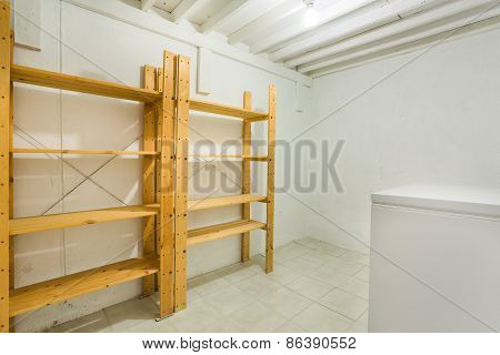 Cold Room In The Basement