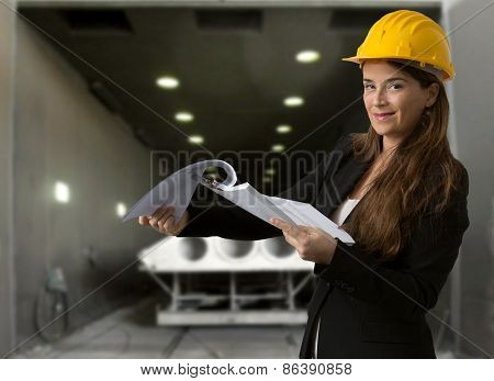 Quality Control Against Industrial Background