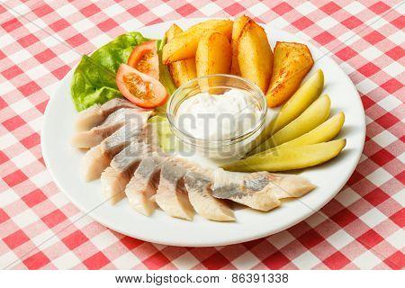 herring appetizer
