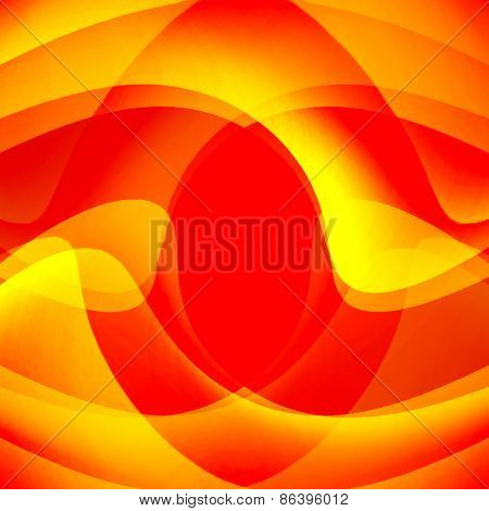 beautiful abstract background of delicate golden-brown waves