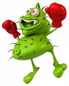 picture of germs  - Fun germ - JPG
