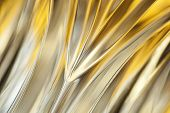 picture of crystal glass  - Wavy curves of transparent crystal glass - JPG