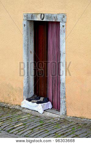 Door And Socks