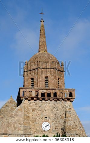 Saint Jacques Church In Perros Guirec