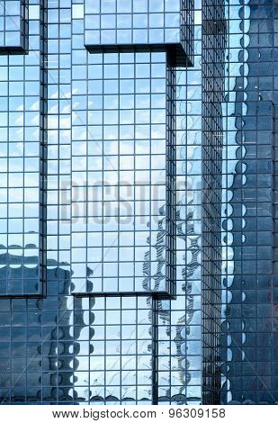 Walls And Reflections Of Skyscrapers