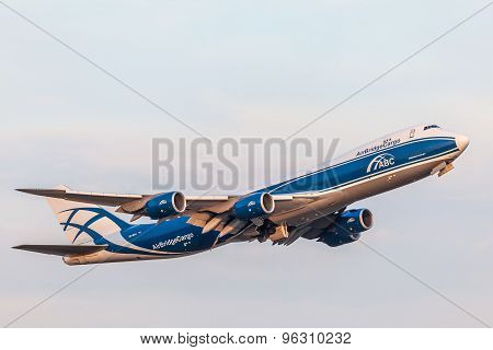 Boeing 747-8Hvf Of The Airbridgecargo