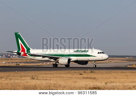 Airbus A320 Of The Alitalia Airline