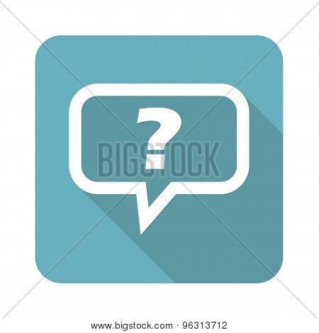Square question icon