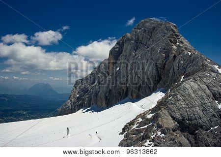 Dachstein mountain range.