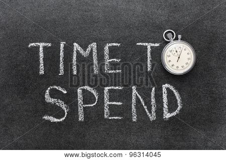 Time To Spend