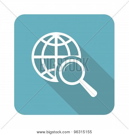 Square global search icon