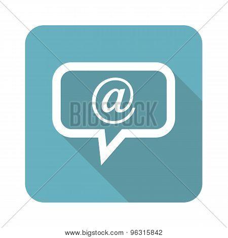 Square e-mail message icon