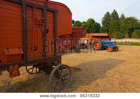 Old Agricultural Vehicle