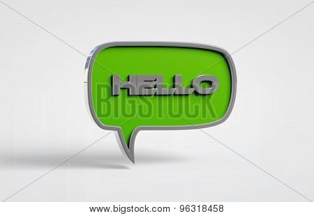 hello green chat