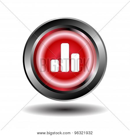 Graph char button isolated