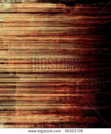 Computer designed highly detailed vintage texture or background. With different color patterns: yellow (beige); brown; red (orange); black