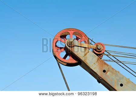 Lifting Block Of Construction Crane