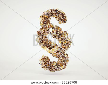 Money Paragraph Sign