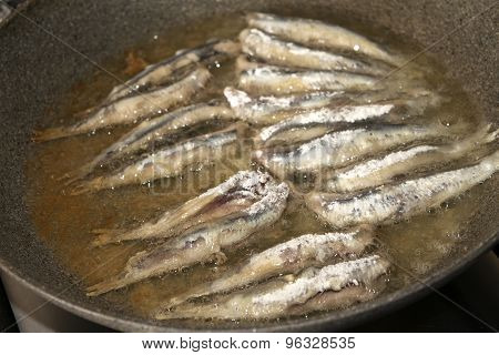 Fry Of Anchovies