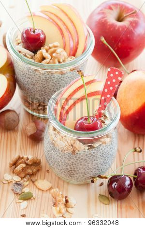 Chia Pudding With Fresh Fruits