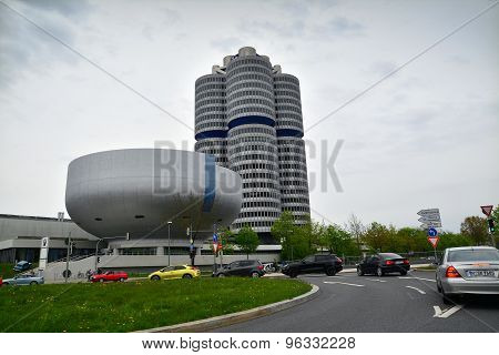 Bmw Headquarters In Munich
