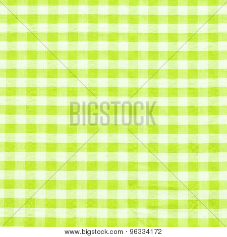 Trendy Checkered Gingham Textile - Vichy Design