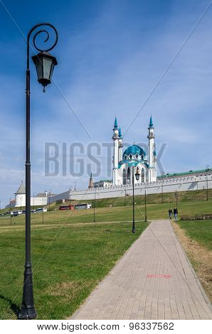 Kul Sharif (mosque In Kazan Kremlin. Unesco World Heritage Site.
