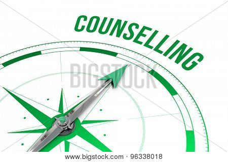 The word counselling against compass