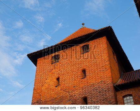 Guard tower of Malbork Castle