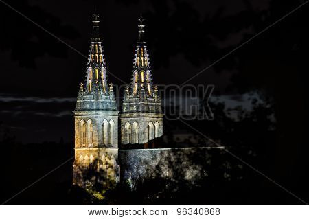 Basilica Of St Peter And St Paul In Prague, Vysehrad, Czech Republic