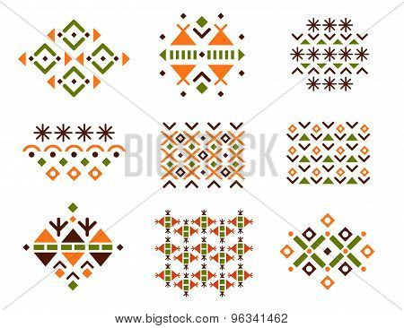 Cute Collection of Ethnic Patterns