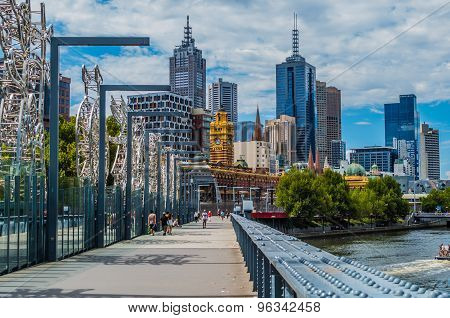 Melbourne Sandridge Bridge