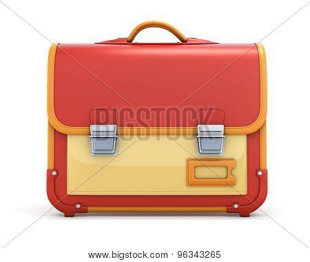 School Bag With A Lock