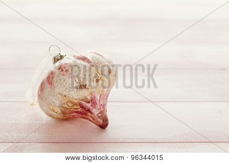 Pink Christmas Bauble