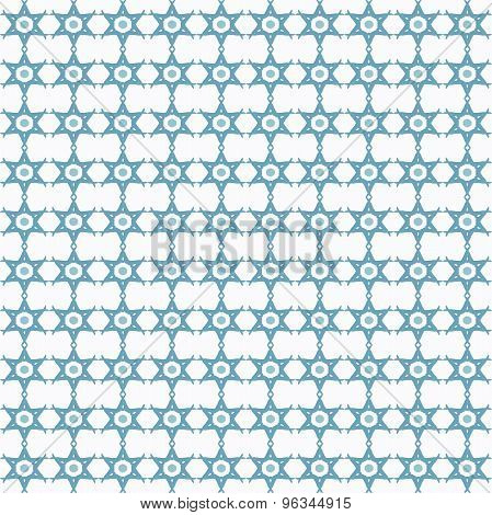 Star of David sign seamless pattern.