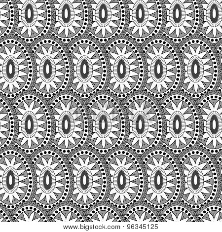 Tile Sun Pattern