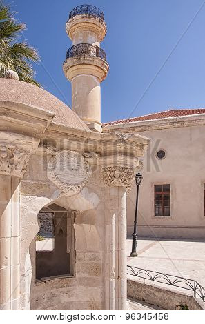 Lerapetra Turkish Mosque And Fountain