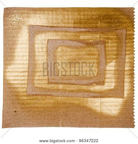 Abstract Golden Art Background