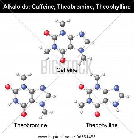 Caffeine, Theobromine, Theophylline